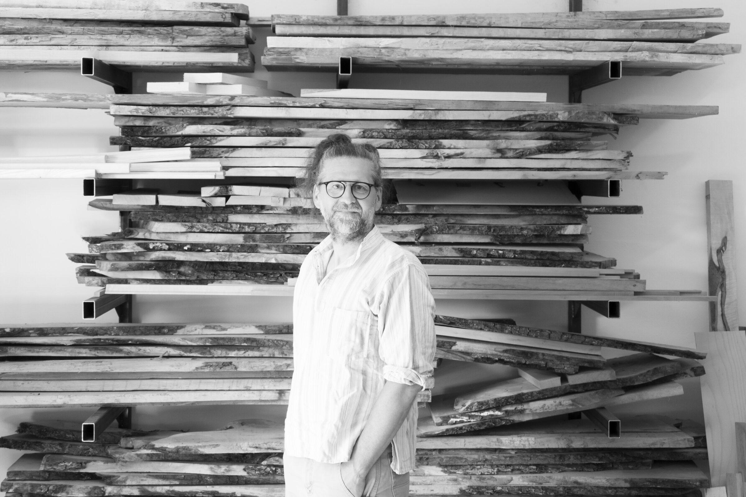 Portrait von Thomas Schwaiger von The Trees of Life Möbelbau und Restaurierung